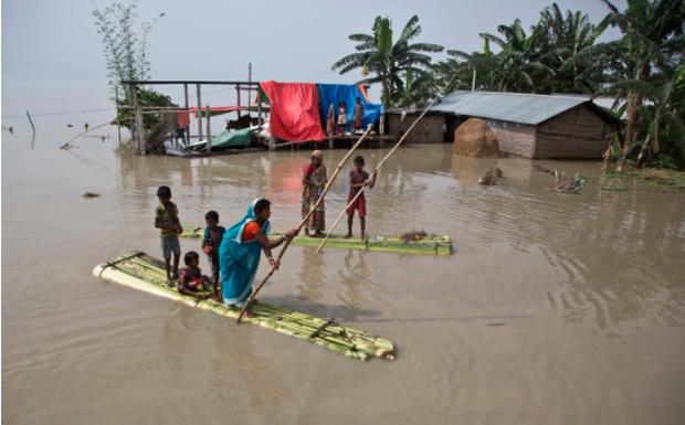 8/10 quốc gia hứng chịu hậu quả nặng nhất của biến đổi khí hậu nằm ở châu Á - Ảnh 1.