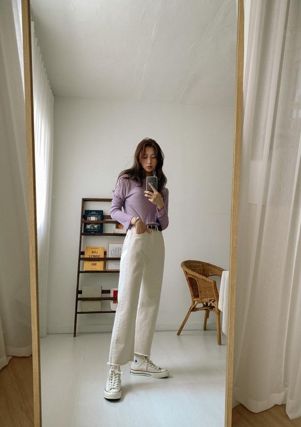 Để lúc nào cũng trẻ trung trendy, các nàng cứ lựa đúng 5 kiểu quần dài sau mà diện - Ảnh 14.