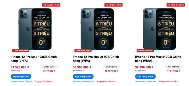 Nhiều người Việt chọn đặt hàng iPhone 12 Pro Max, giá bán khá cao nhưng có nhiều khuyến mãi - Ảnh 6.