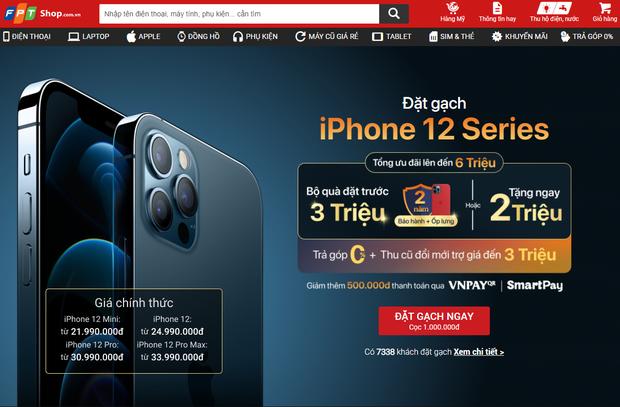 Nhiều người Việt chọn đặt hàng iPhone 12 Pro Max, giá bán khá cao nhưng có nhiều khuyến mãi - Ảnh 1.