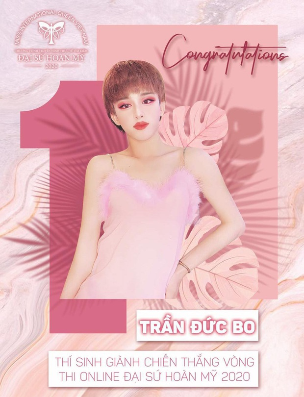 Netizen hoang mang khi Trần Đức Bo được đặc cách vào top 50 cuộc thi mỹ nhân chuyển giới - Ảnh 2.