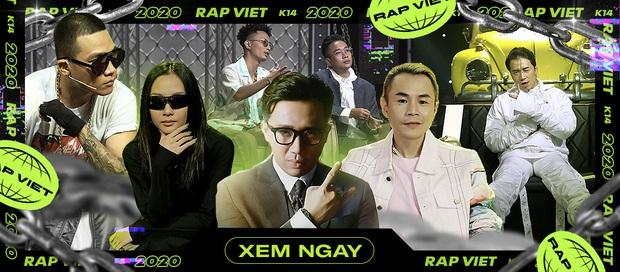 Rap Việt hóa thành lớp học sau phần thi của trai đẹp Tage, chú lao công Rhymastic tiếp tục tấu hài - Ảnh 10.