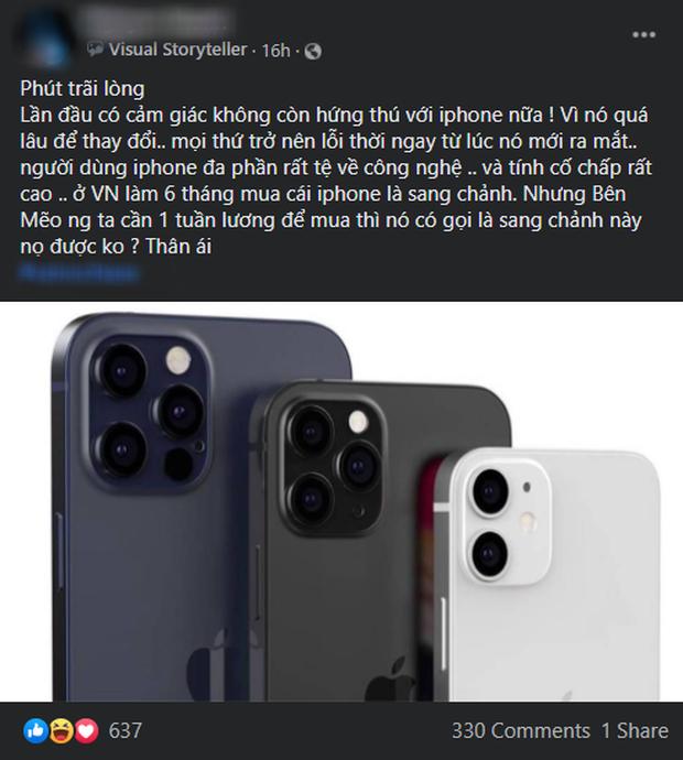 iPhone 12 vừa cập bến, đã phải nhận cơn mưa cà khịa từ cộng đồng Việt - Ảnh 7.