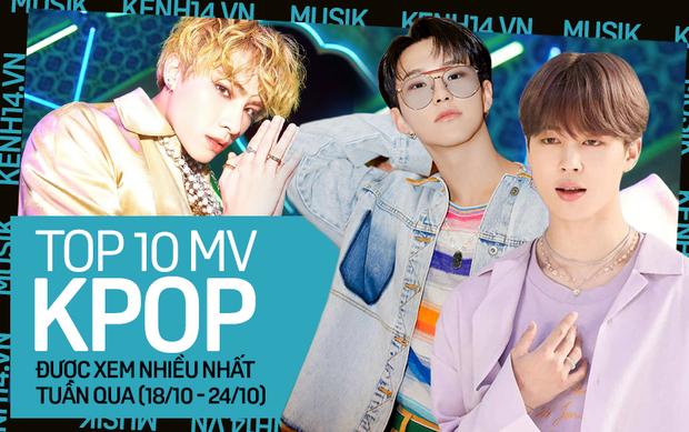 BTS lấy lại ngôi vương từ tay NCT; SEVENTEEN và MAMAMOO đe doạ vị trí của BLACKPINK trong top MV được xem nhiều nhất tuần - Ảnh 1.