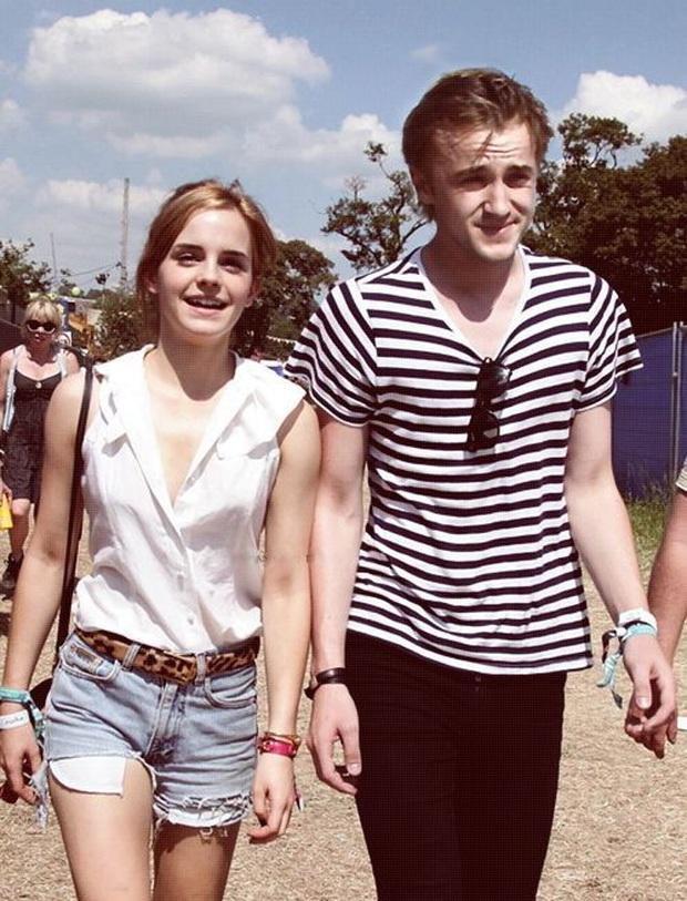 Rần rần ảnh dự đoán nhan sắc con cặp Emma Watson - Tom Felton: Nét đẹp hoàn mỹ, fan Harry Porter phấn khích vì visual quá hot - Ảnh 6.