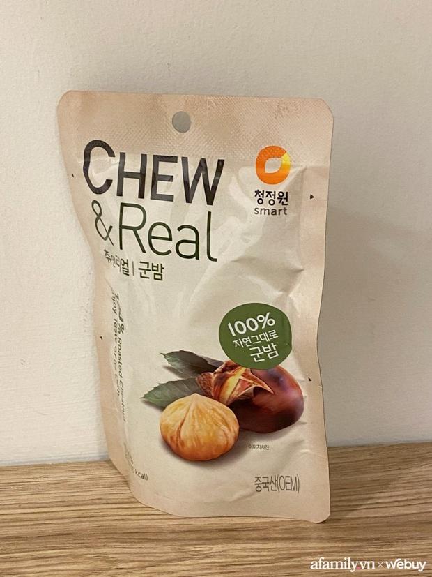 Trời lạnh ăn thử 3 loại hạt dẻ đóng gói, tách vỏ sẵn: Loại 18k rẻ nhất hóa ra lại ngon nhất? - Ảnh 2.