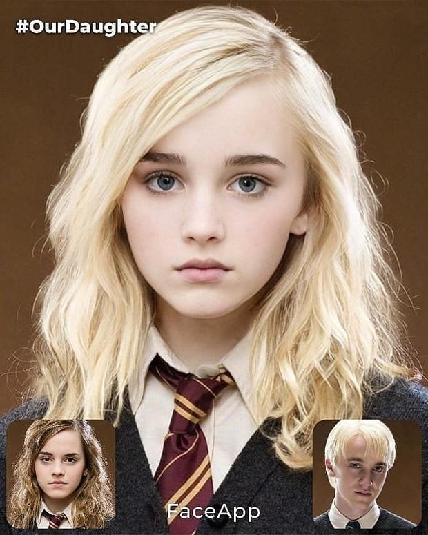 Rần rần ảnh dự đoán nhan sắc con cặp Emma Watson - Tom Felton: Nét đẹp hoàn mỹ, fan Harry Porter phấn khích vì visual quá hot - Ảnh 3.