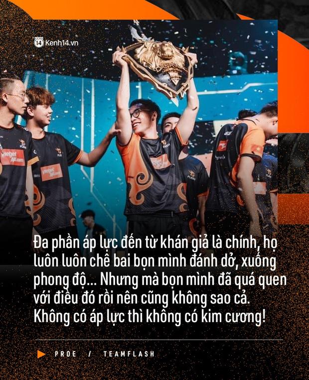Phỏng vấn độc quyền ProE: Phải vào Chung kết thì mình mới dám nghĩ tới chức vô địch - Ảnh 3.