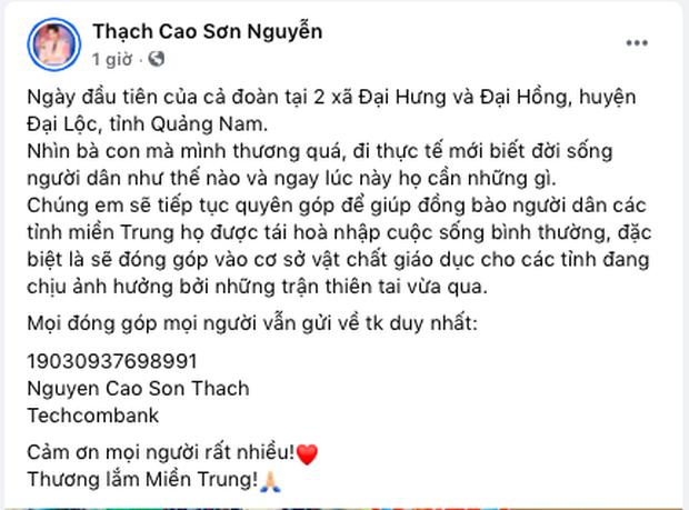 Lan Ngọc và Chi Dân bất ngờ xuất hiện chung, đồng hành với ST, Trương Quỳnh Anh đến miền Trung để cứu trợ bà con - Ảnh 3.