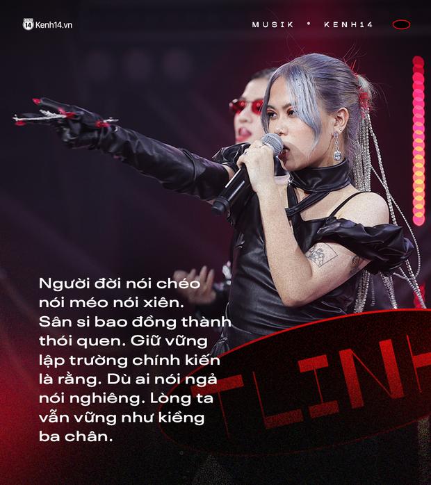 Cặp đôi cùng tiến của Rap Việt: Các anh nghe lyrics của MCK xong mà tấm tắc, hội chị em nghe Tlinh thì chỉ muốn vùng lên! - Ảnh 9.