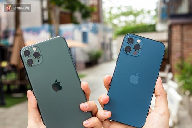 iPhone 12 Pro đọ dáng iPhone 11 Pro - Kẻ tám lạng, người xém được nửa cân - Ảnh 3.