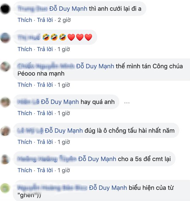 Quỳnh Anh đăng ảnh diện váy 2 dây gợi cảm, Duy Mạnh liền nói mát: Như gái chưa chồng - Ảnh 2.