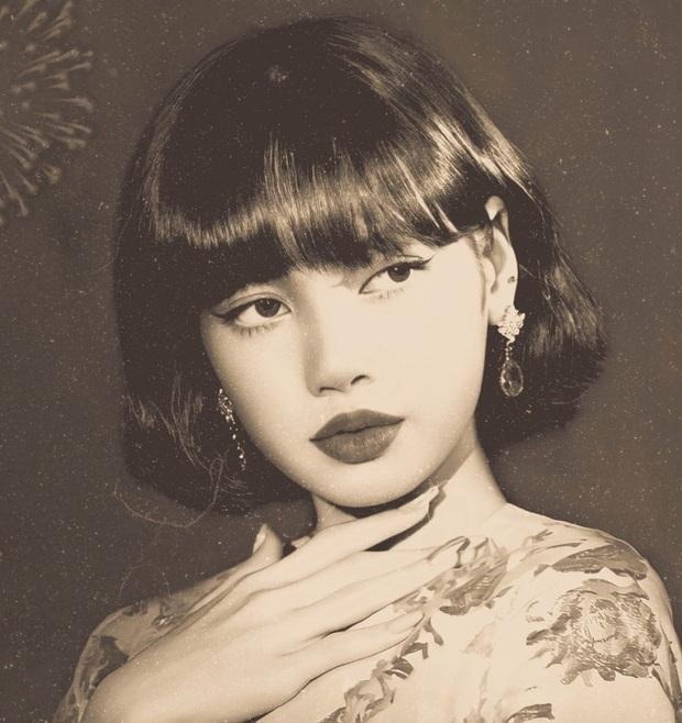 Trăm nghìn netizen đang phát sốt vì bộ ảnh xuyên không của Lisa (BLACKPINK): Minh tinh tuyệt sắc thập niên 1970 hay gì? - Ảnh 2.
