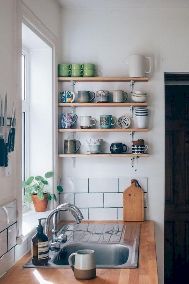 13 ý tưởng trang trí cho khu bếp có diện tích nhỏ mà bạn không nên bỏ lỡ - Ảnh 14.