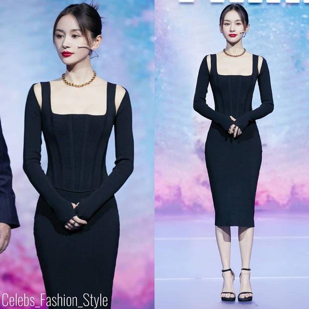 Sao nữ trên thảm đỏ tuần qua: Váy đen dễ mặc là thế nhưng Tống Thiến vẫn bị réo tên - Ảnh 2.