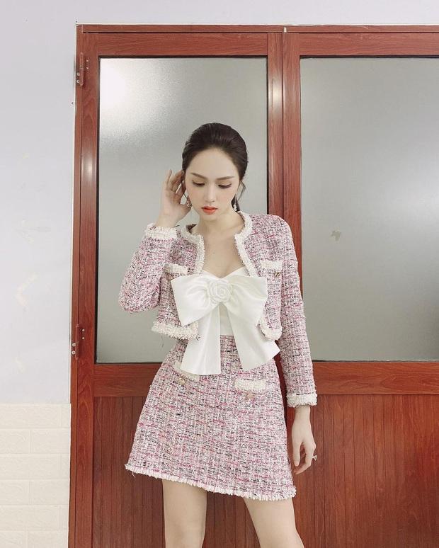 Học sao Việt sắm cả cây vải tweed thì đi đâu chị em cũng được khen xinh sang - Ảnh 1.