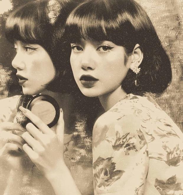 Trăm nghìn netizen đang phát sốt vì bộ ảnh xuyên không của Lisa (BLACKPINK): Minh tinh tuyệt sắc thập niên 1970 hay gì? - Ảnh 3.