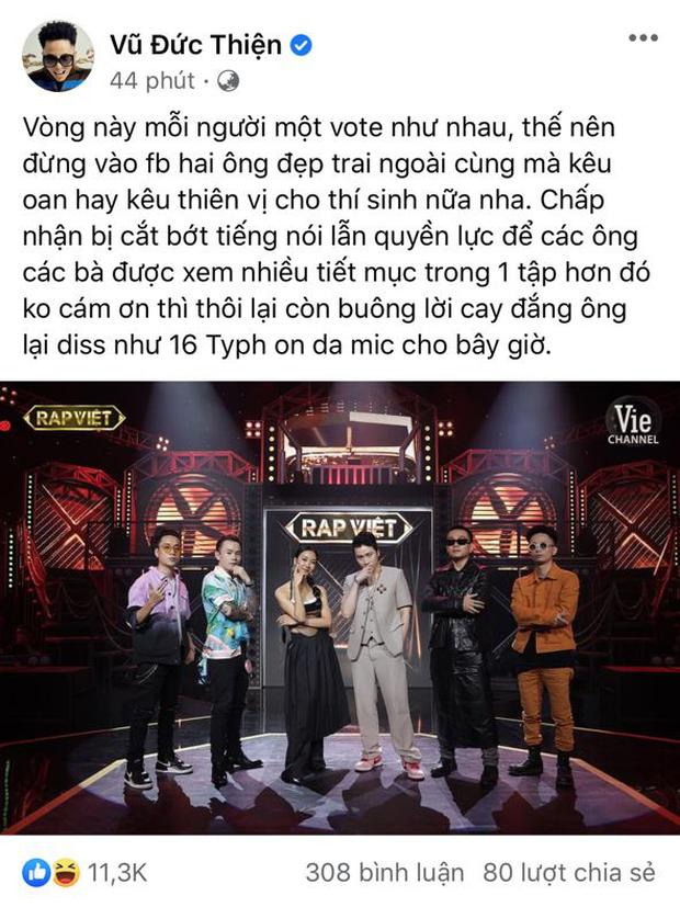 Rap Việt thiếu gì tranh cãi: MC bị chỉ trích phát ngôn vớ vẩn, giám khảo cà khịa show đối thủ đến thí sinh cũng chơi xấu, đạo nhạc? - Ảnh 17.