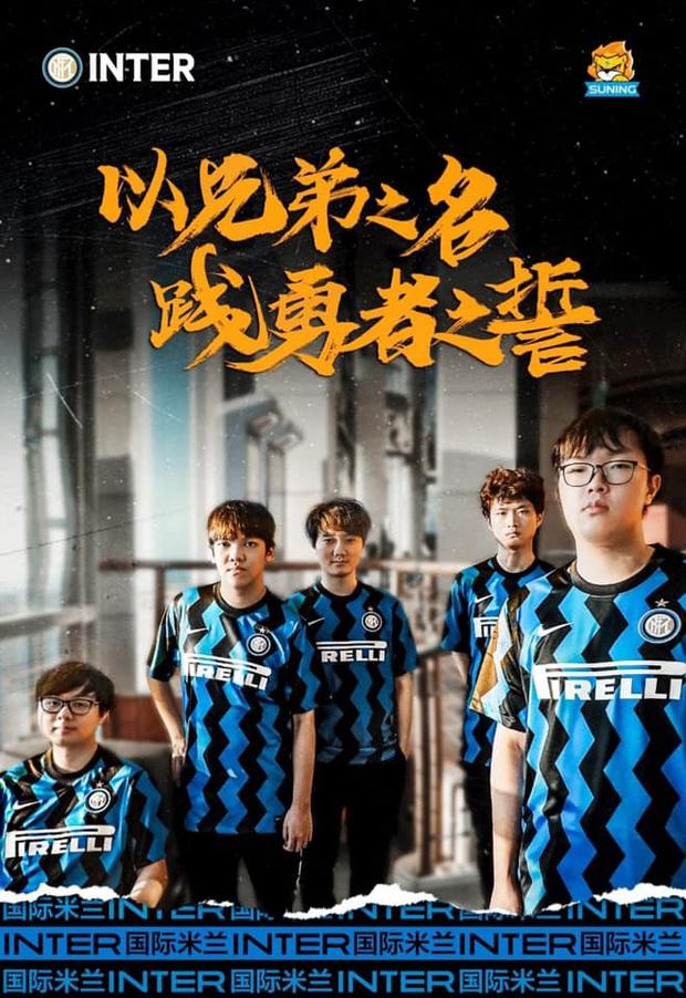 CLB Inter Milan chúc mừng SofM và Suning sau chiến thắng 3-1 trước TOP Esports - Ảnh 3.