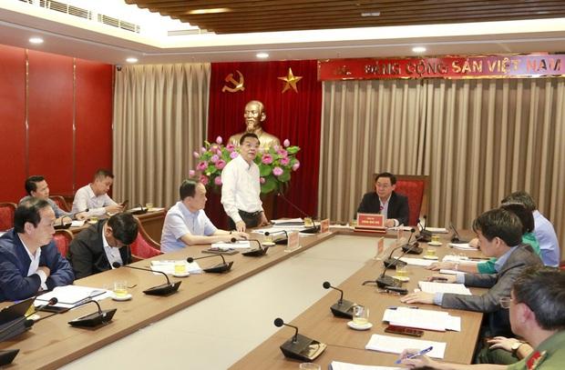 Bí thư Thành ủy Vương Đình Huệ chỉ đạo xử lý vụ việc liên quan đến Khu liên hợp xử lý chất thải Sóc Sơn - Ảnh 3.