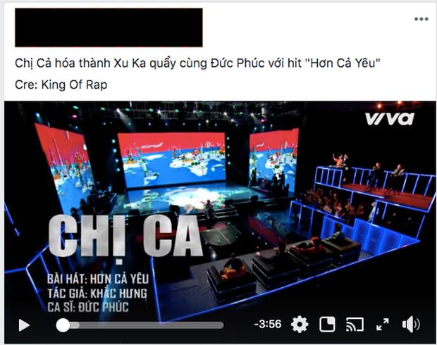 Chị Cả (King Of Rap) kết hợp Đức Phúc khiến netizen nổ ra tranh cãi: Tiết mục lạc quẻ, cách rap như học sinh cấp 1 trả bài? - Ảnh 4.