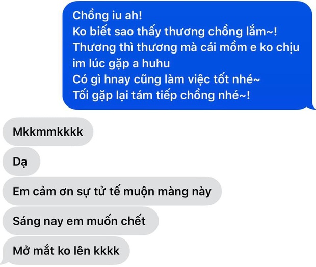"""Sáng ra Hari Won lên MXH than vãn """"yêu nhiều quá cũng mệt"""", còn hé lộ tin nhắn với Trấn Thành để nói rõ lý do! - Ảnh 3."""