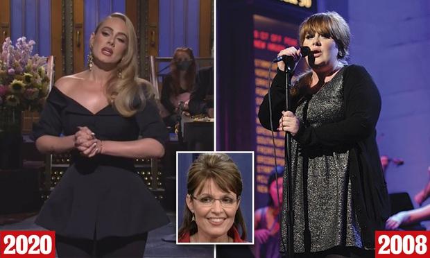 Adele phiên bản giảm 45kg bất ngờ xuất hiện trên sóng truyền hình qua 4 bản hit một thời! - Ảnh 1.