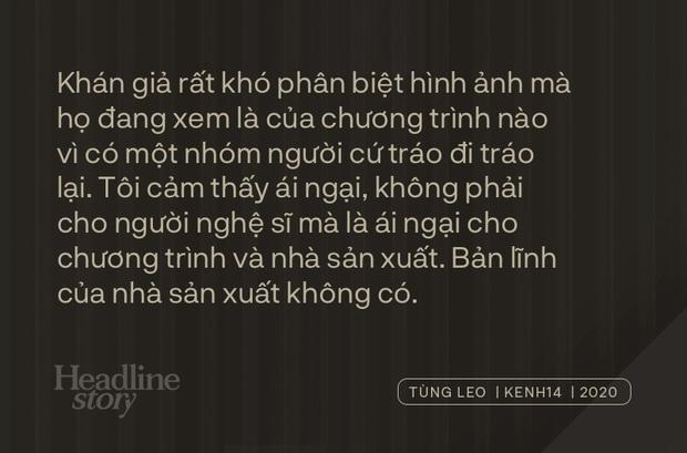 MC Tùng Leo: Người dựng chắc yêu nước mắt Trấn Thành, hoặc nghĩ Thành khóc có view, chứ lỗi không phải do cậu ấy - Ảnh 18.