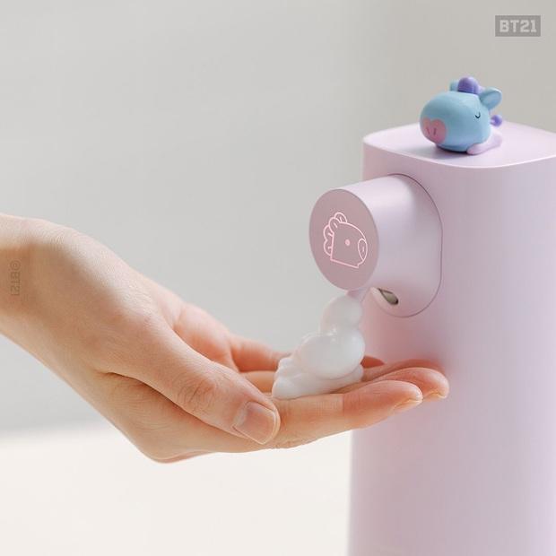 Máy tạo bọt rửa tay siêu xinh, còn có cảm ứng siêu xịn nhìn là muốn múc - Ảnh 4.