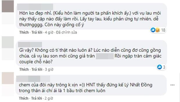 Hồ Nhất Thiên được bạn gái lau nước bọt sau cảnh hôn, netizen ngán ngẩm anh chị lại làm màu rồi! - Ảnh 6.