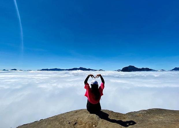 """Dân mạng truy lùng địa điểm săn mây đẹp bậc nhất Việt Nam: Xem ảnh mà ngỡ """"tiên cảnh"""" giữa đời thực, không phải ai cũng được check-in - Ảnh 19."""