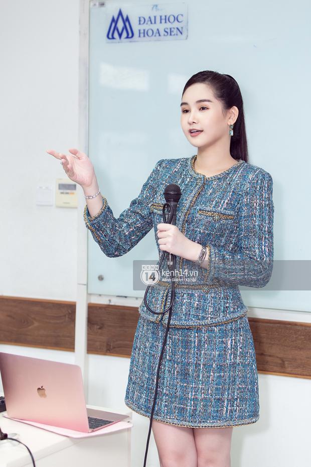 Sao Việt khiến fan nở mũi vì sở hữu học vị danh giá: Hoàng Thùy Linh có ý định học lên Tiến sĩ, Lê Âu Ngân Anh làm Thạc sĩ khi mới 24 tuổi - Ảnh 7.