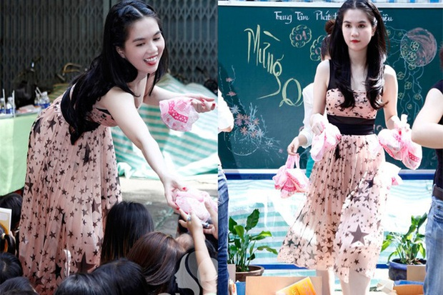 Sao Việt bị ném đá vì chuyện ăn mặc khi đi từ thiện: Người hở ngực, hở mông, người lại lên đồ như đi club - Ảnh 7.