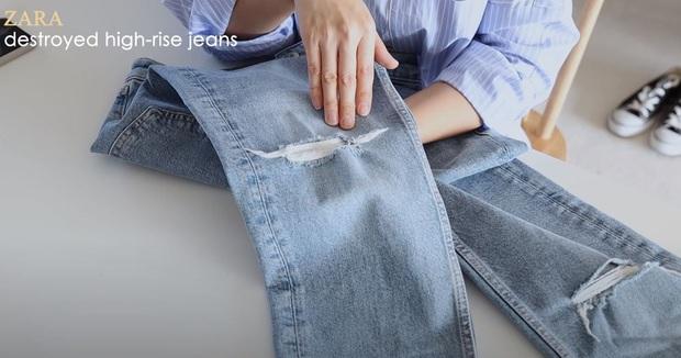 Thử 5 dáng quần jeans của Zara, nàng blogger xứ Hàn chỉ luôn nên chọn chiếc nào, bỏ qua chiếc nào nếu bạn có mỡ bụng - Ảnh 2.