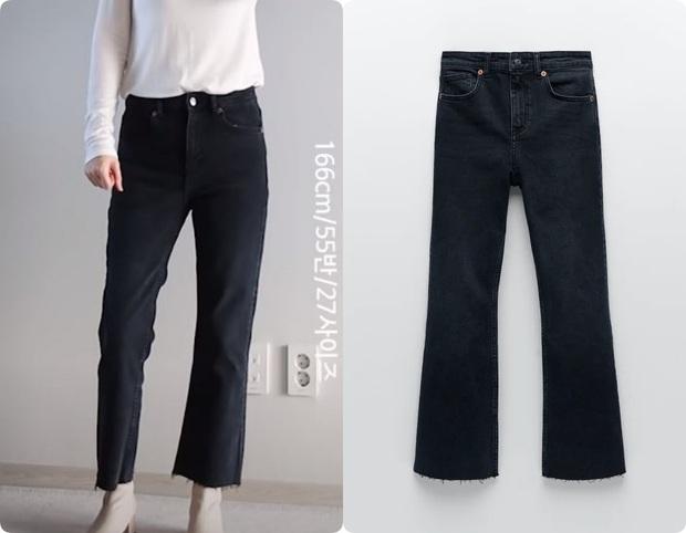 Thử 5 dáng quần jeans của Zara, nàng blogger xứ Hàn chỉ luôn nên chọn chiếc nào, bỏ qua chiếc nào nếu bạn có mỡ bụng - Ảnh 12.
