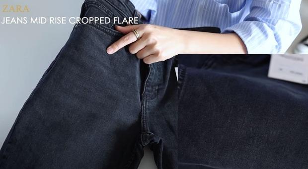 Thử 5 dáng quần jeans của Zara, nàng blogger xứ Hàn chỉ luôn nên chọn chiếc nào, bỏ qua chiếc nào nếu bạn có mỡ bụng - Ảnh 13.