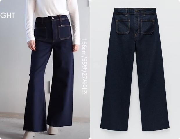 Thử 5 dáng quần jeans của Zara, nàng blogger xứ Hàn chỉ luôn nên chọn chiếc nào, bỏ qua chiếc nào nếu bạn có mỡ bụng - Ảnh 15.