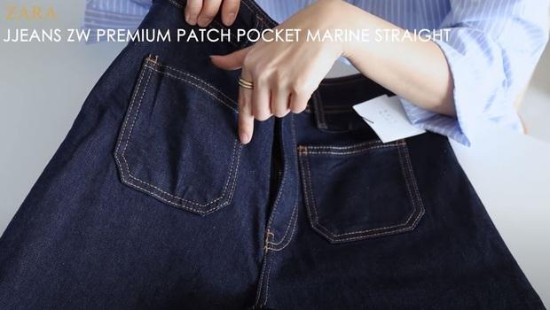 Thử 5 dáng quần jeans của Zara, nàng blogger xứ Hàn chỉ luôn nên chọn chiếc nào, bỏ qua chiếc nào nếu bạn có mỡ bụng - Ảnh 16.