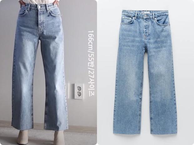 Thử 5 dáng quần jeans của Zara, nàng blogger xứ Hàn chỉ luôn nên chọn chiếc nào, bỏ qua chiếc nào nếu bạn có mỡ bụng - Ảnh 5.