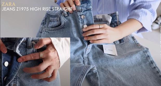 Thử 5 dáng quần jeans của Zara, nàng blogger xứ Hàn chỉ luôn nên chọn chiếc nào, bỏ qua chiếc nào nếu bạn có mỡ bụng - Ảnh 6.