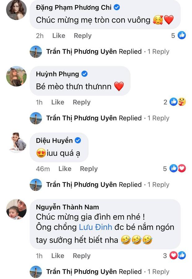 Uyên Pu chính thức gia nhập hội bỉm sữa, dàn hot streamer Việt chúc mừng rôm rả cả làng - Ảnh 2.