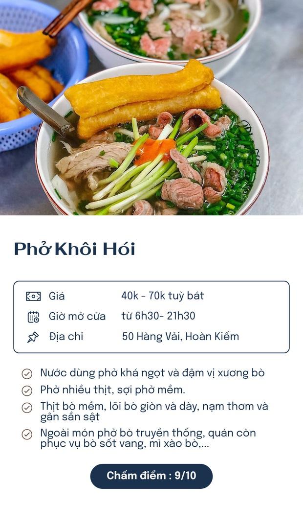 Chấm điểm 7 quán phở nổi tiếng nhất Hà Nội: Sợi phở dai, thịt bò mềm, qua hàng chục năm vẫn đỉnh như ngày đầu! - Ảnh 1.