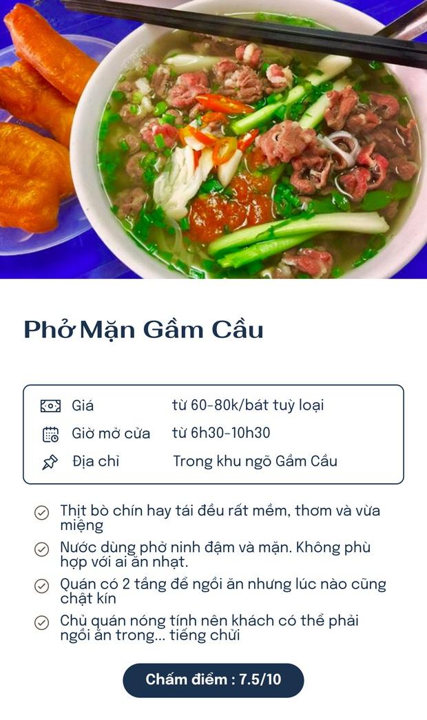 Chấm điểm 7 quán phở nổi tiếng nhất Hà Nội: Sợi phở dai, thịt bò mềm, qua hàng chục năm vẫn đỉnh như ngày đầu! - Ảnh 7.