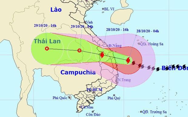NÓNG: Bão số 9 giật cấp 15, ngay trên vùng biển từ Đà Nẵng đến Phú Yên - Ảnh 1.