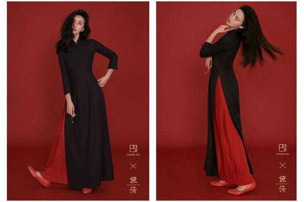Netizen dậy sóng khi thấy nhiếp ảnh gia Trung Quốc ngang nhiên biến áo dài Việt Nam thành thiết kế của mình - Ảnh 3.