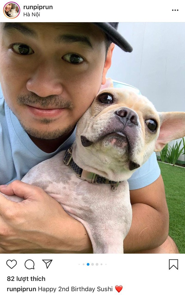 Phillip Nguyễn chúc sinh nhật cún cưng nhưng cứ phải đính kèm ảnh chụp lén Linh Rin: Chàng thiếu gia mê nàng lắm rồi! - Ảnh 2.