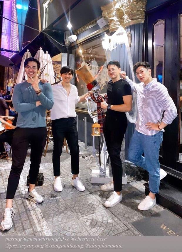 Dàn trai đẹp tập 1 Người Ấy Là Ai mùa 3 hội ngộ dự tiệc chia tay bạn trai người Thái của Trang Anna - Ảnh 2.