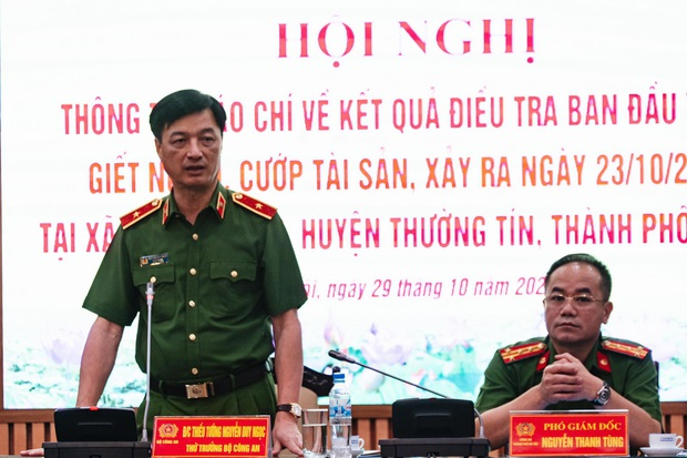 Họp báo vụ nữ sinh HV Ngân hàng bị sát hại: Đối tượng Trung đã cai nghiện về, lưu manh và có nhiều thủ đoạn chống đối - Ảnh 3.