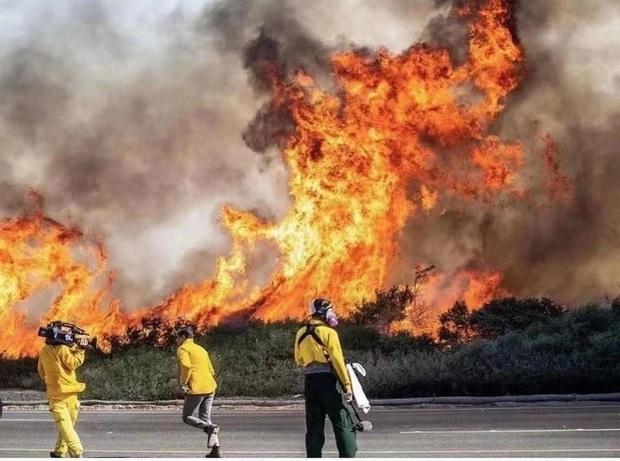 Thanh Thảo xót xa hé lộ khung cảnh vườn nhà ở Mỹ hoang tàn do ảnh hưởng của gió lớn và cháy rừng - Ảnh 5.