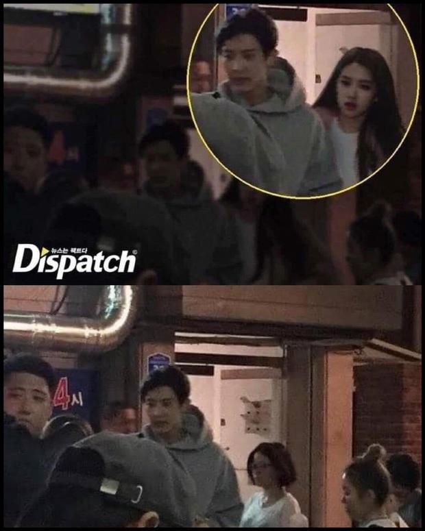Sau vụ Rosé (BLACKPINK) bị đồn hẹn hò Chanyeol (EXO), Dispatch cảnh báo sẽ kiện người phát tán ảnh - Ảnh 4.
